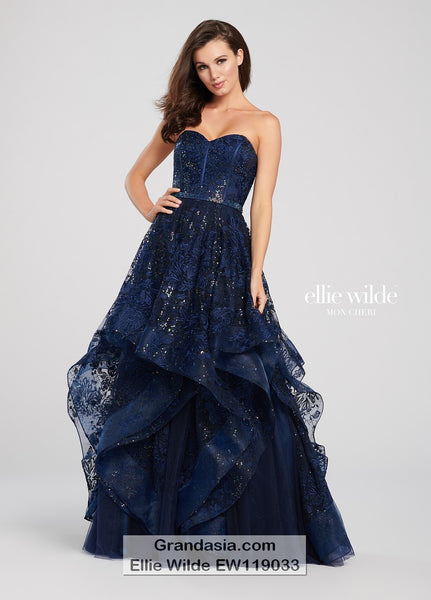 Ellie Wilde EW119033 Prom Dress