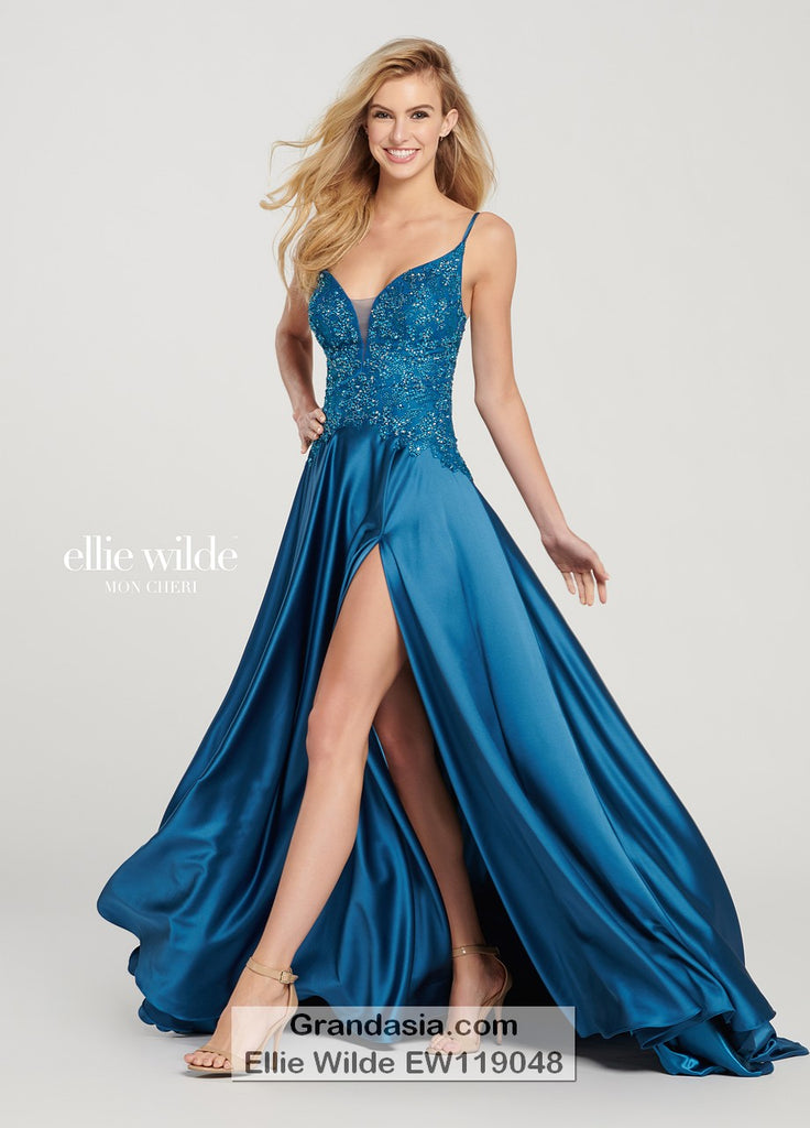 Ellie Wilde EW119048 Prom Dress