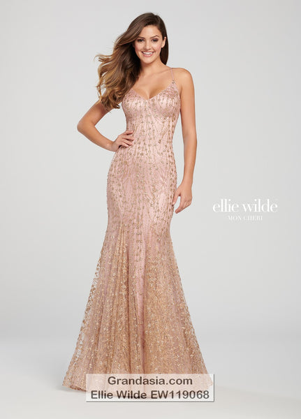 Ellie Wilde EW119068 Prom Dress