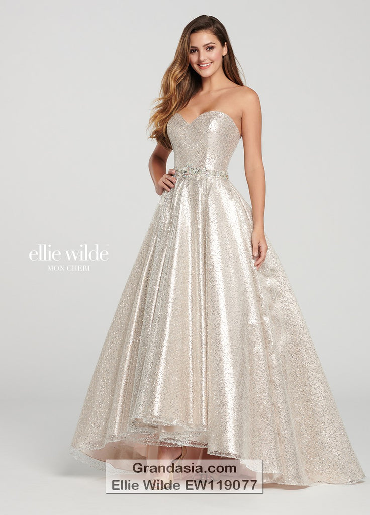 Ellie Wilde EW119077 Prom Dress