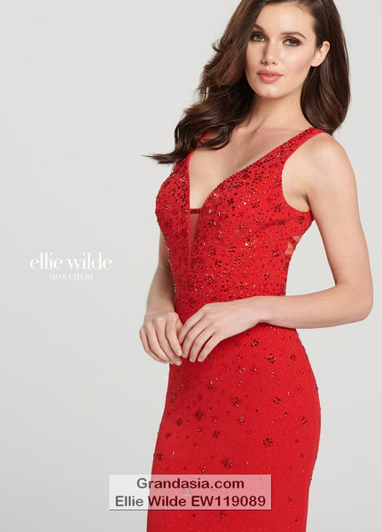 Ellie Wilde EW119089 Prom Dress