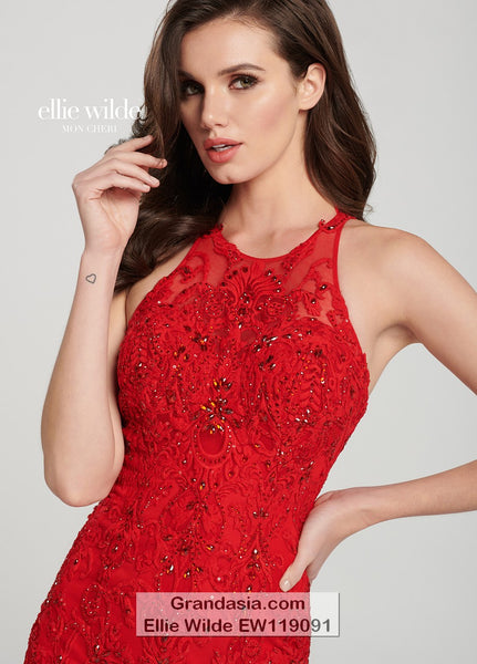 Ellie Wilde EW119091 Prom Dress