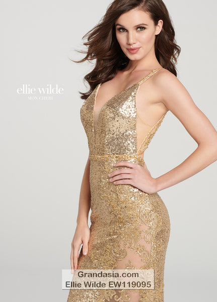 Ellie Wilde EW119095 Prom Dress