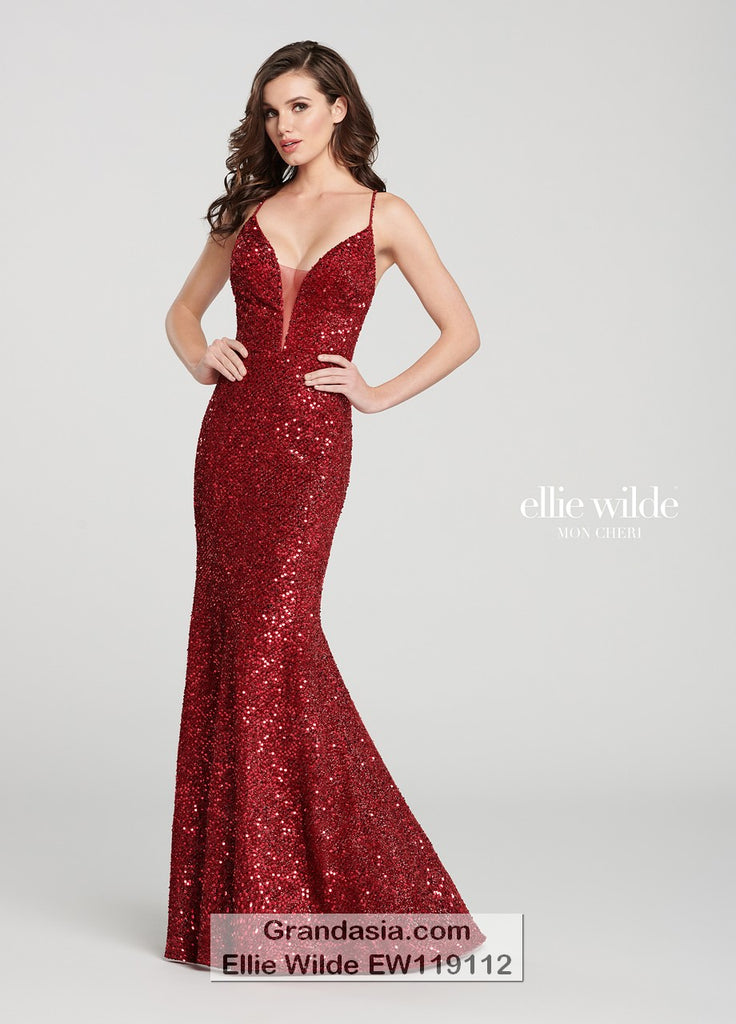 Ellie Wilde EW119112 Prom Dress