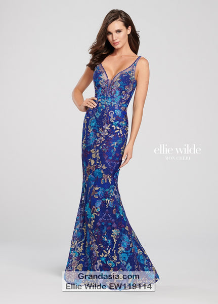 Ellie Wilde EW119114 Prom Dress