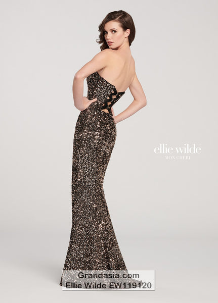 Ellie Wilde EW119120 Prom Dress