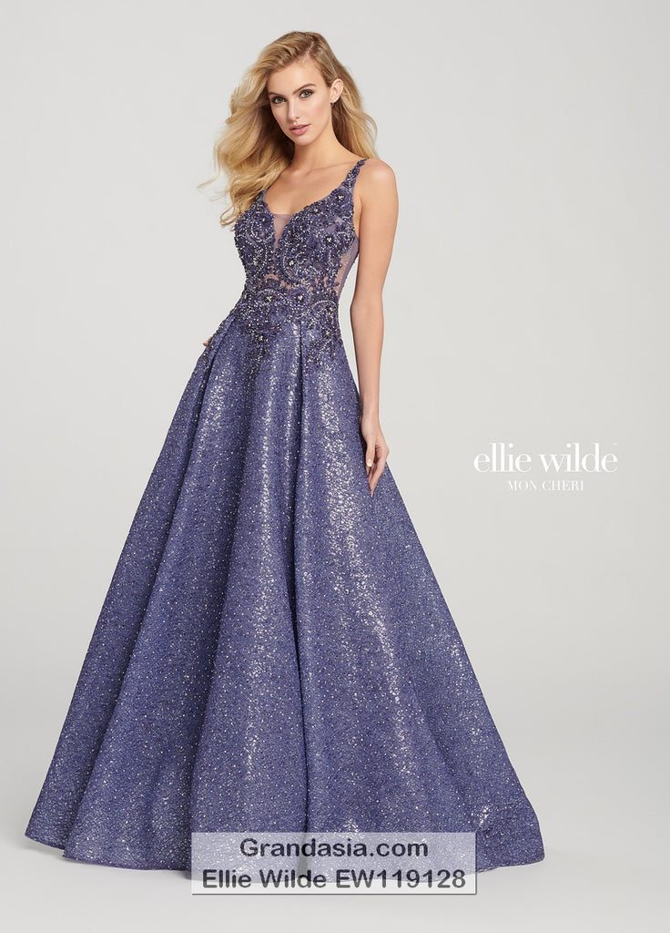 Ellie Wilde EW119128 Prom Dress