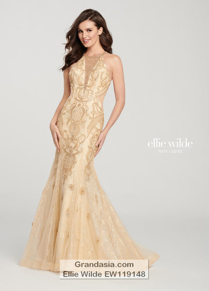 Ellie Wilde EW119148 Prom Dress