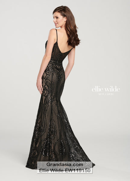 Ellie Wilde EW119150 Prom Dress