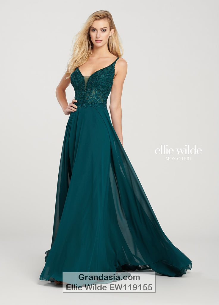 Ellie Wilde EW119155 Prom Dress