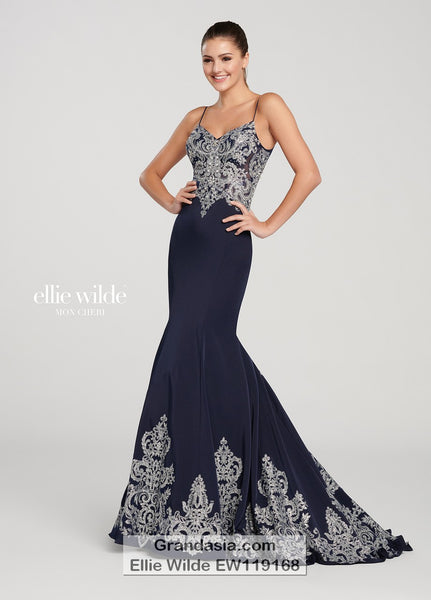 Ellie Wilde EW119168 Prom Dress