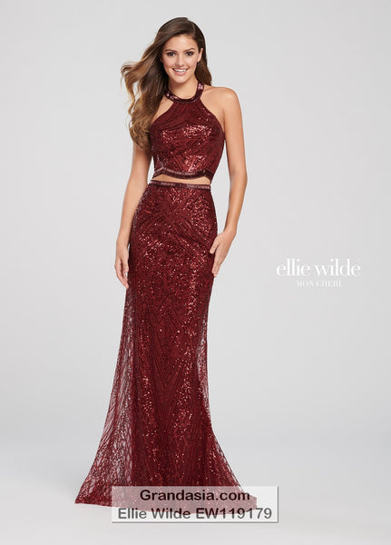 Ellie Wilde EW119179 Prom Dress