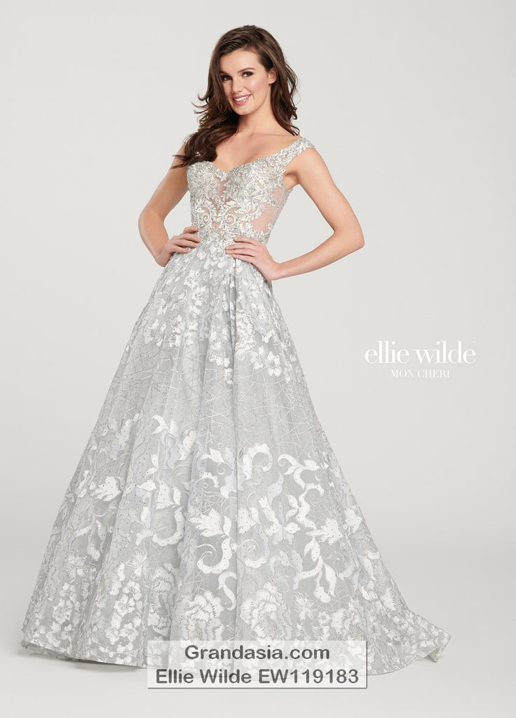 Ellie Wilde EW119183 Prom Dress