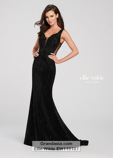 Ellie Wilde EW119187 Prom Dress
