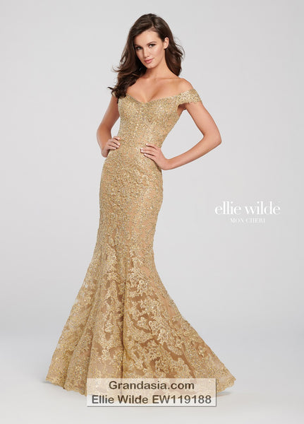Ellie Wilde EW119188 Prom Dress