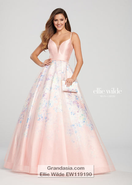 Ellie Wilde EW119190 Prom Dress