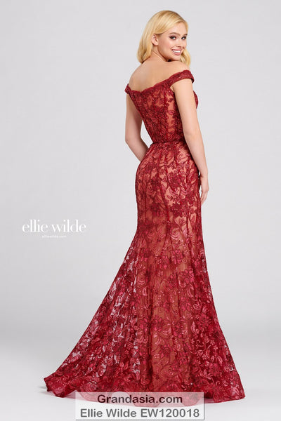 Ellie Wilde EW120018 Prom Dress