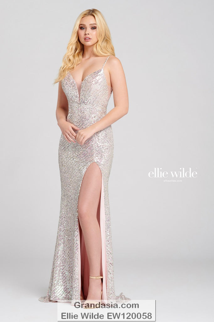 Ellie Wilde EW120058 Prom Dress