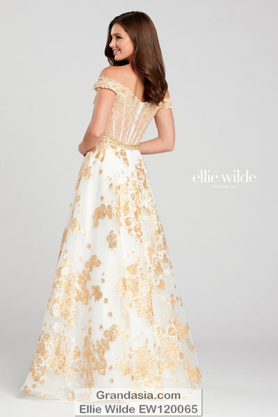 Ellie Wilde EW120065 Prom Dress