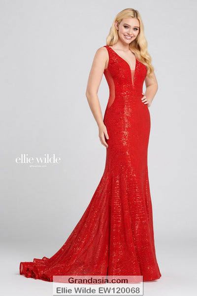 Ellie Wilde EW120068 Prom Dress