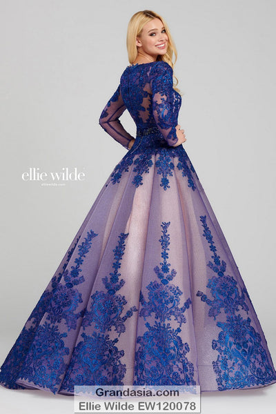 Ellie Wilde EW120078 Prom Dress