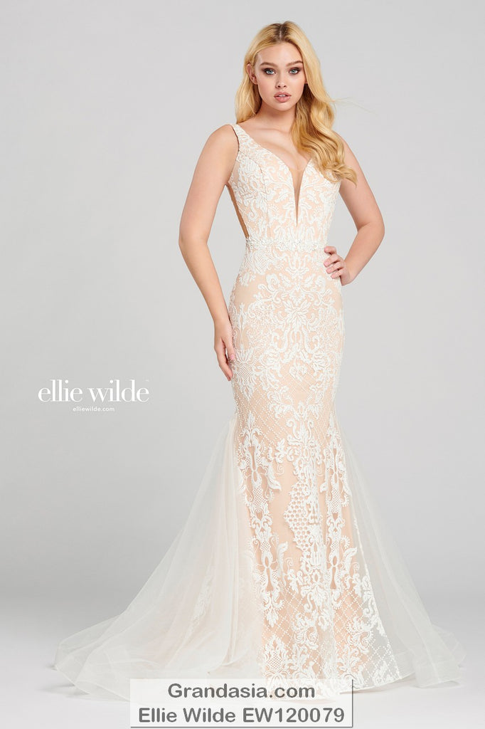 Ellie Wilde EW120079 Prom Dress