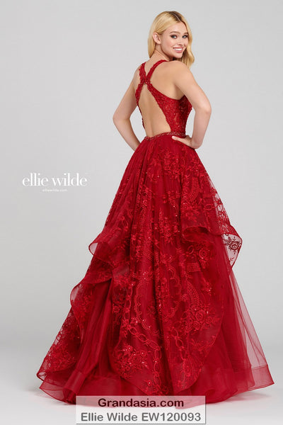 Ellie Wilde EW120093 Prom Dress