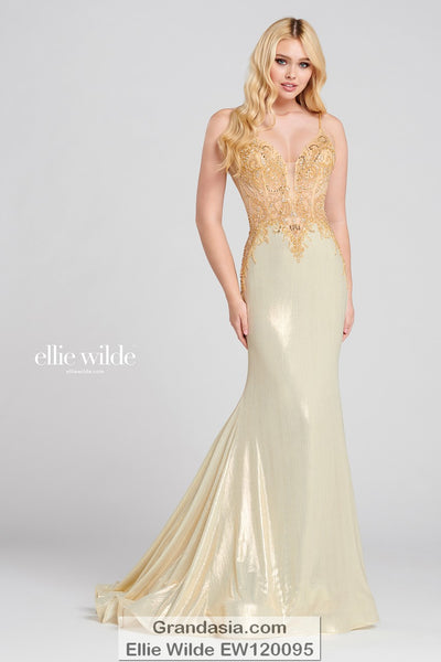 Ellie Wilde EW120095 Prom Dress