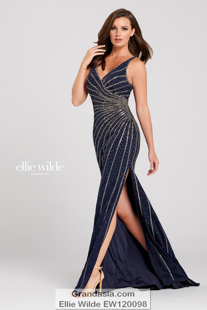 Ellie Wilde EW120098 Prom Dress