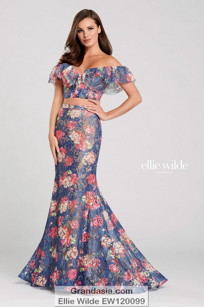 Ellie Wilde EW120099 Prom Dress