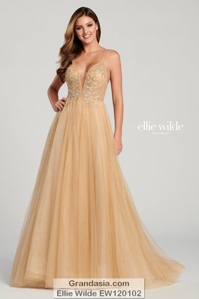 Ellie Wilde EW120102 Prom Dress