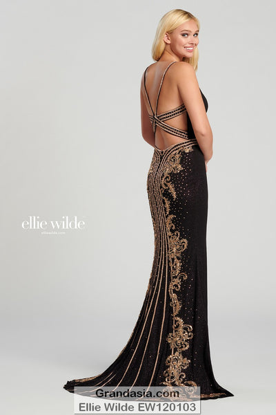 Ellie Wilde EW120103 Prom Dress