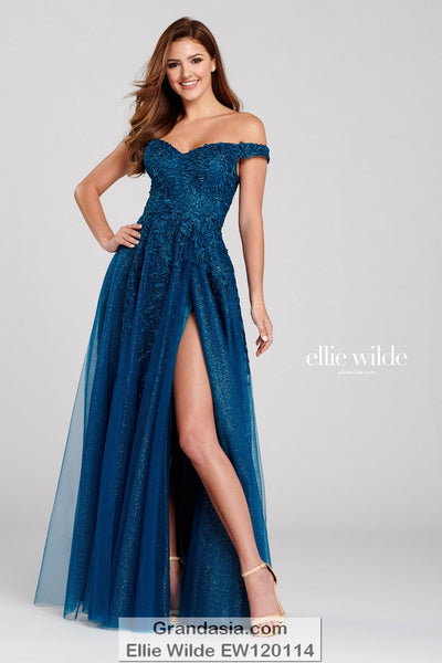 Ellie Wilde EW120114 Prom Dress