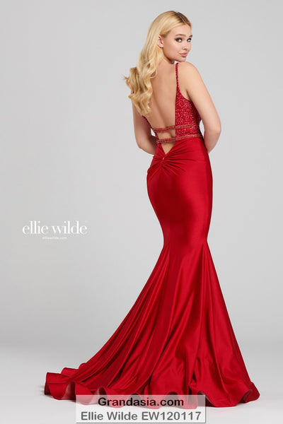 Ellie Wilde EW120117 Prom Dress