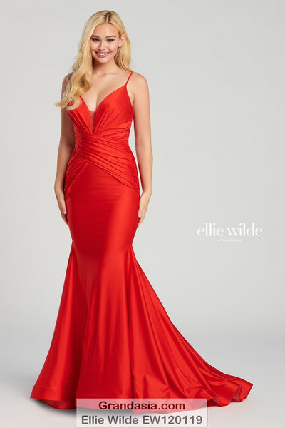 Ellie Wilde EW120119 Prom Dress