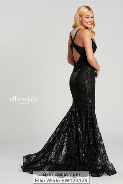 Ellie Wilde EW120129 Prom Dress