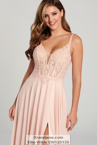 Ellie Wilde EW120139 Prom Dress