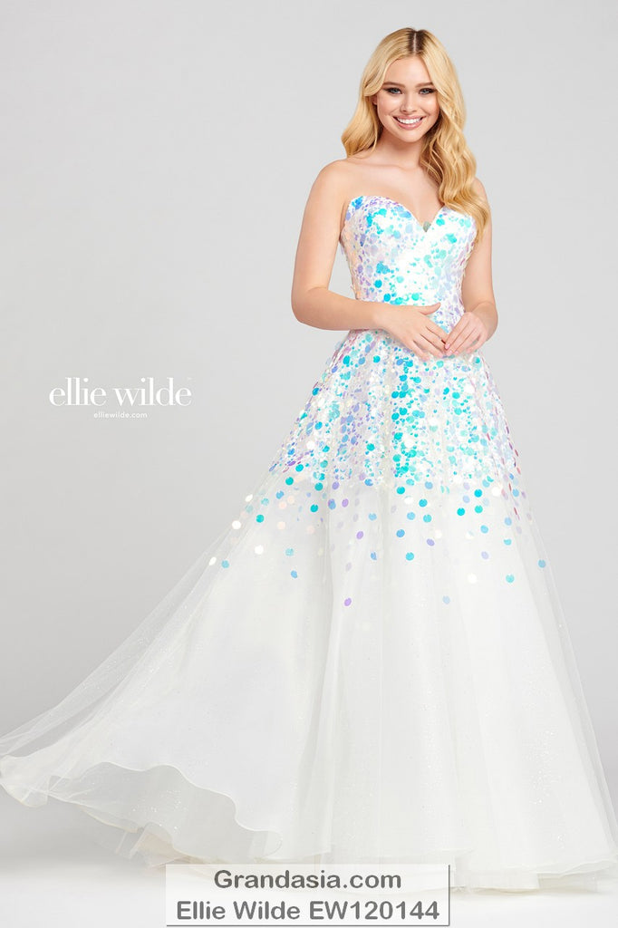 Ellie Wilde EW120144 Prom Dress