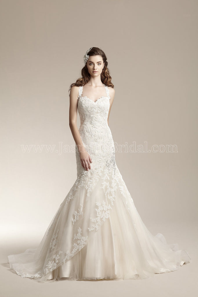 Jasmine Collection F151001 Bridal Gown