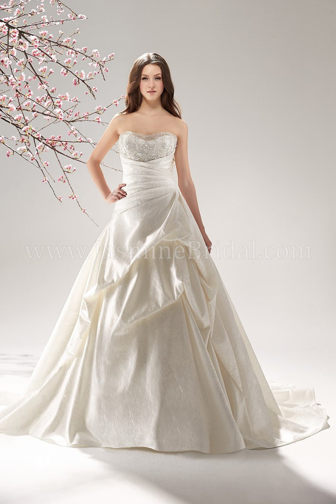 Jasmine Collection F151058 Bridal Gown
