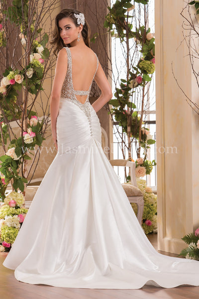 Jasmine Collection F171055 Bridal Gown