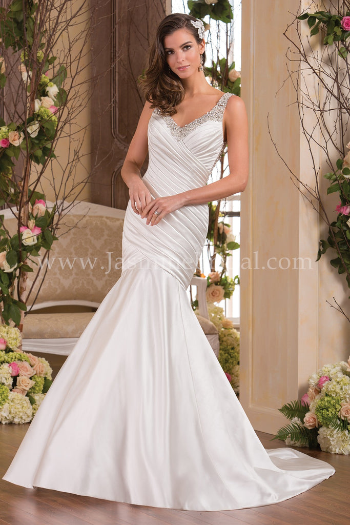 f9ec5f73f2991 Jasmine Collection F171055 Bridal Gown – Grandasia