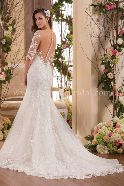 Jasmine Collection F171061 Bridal Gown