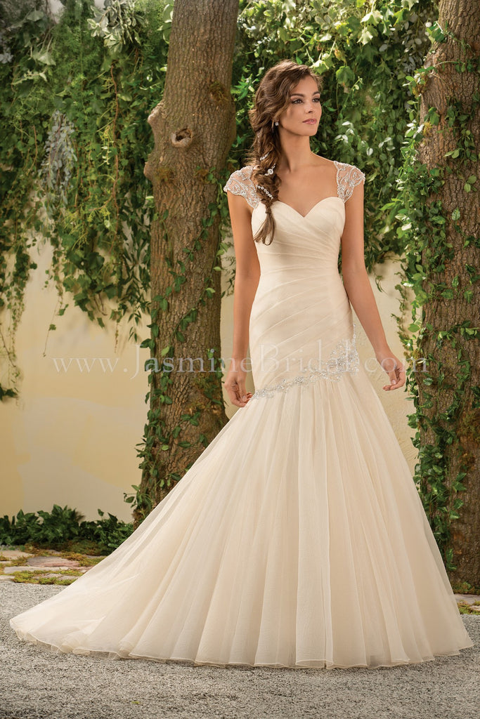 Jasmine Collection F181003 Bridal Gown
