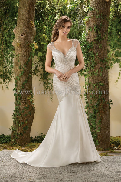 Jasmine Collection F181011 Bridal Gown