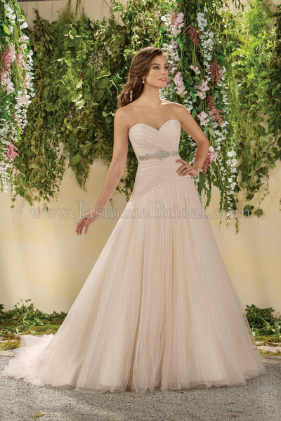 Jasmine Collection F181018 Bridal Gown