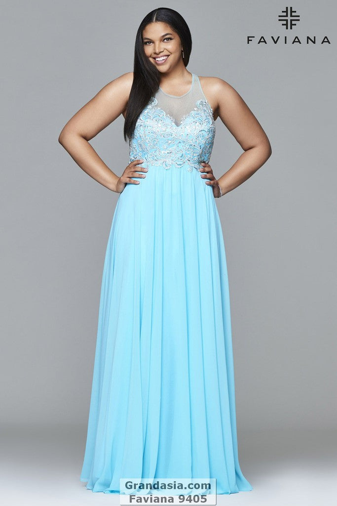 Faviana 9405 Prom Dress