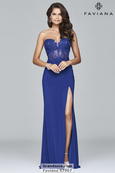 Faviana S7907 Prom Dress