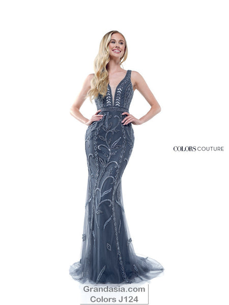 Colors Couture J124 Prom Dress