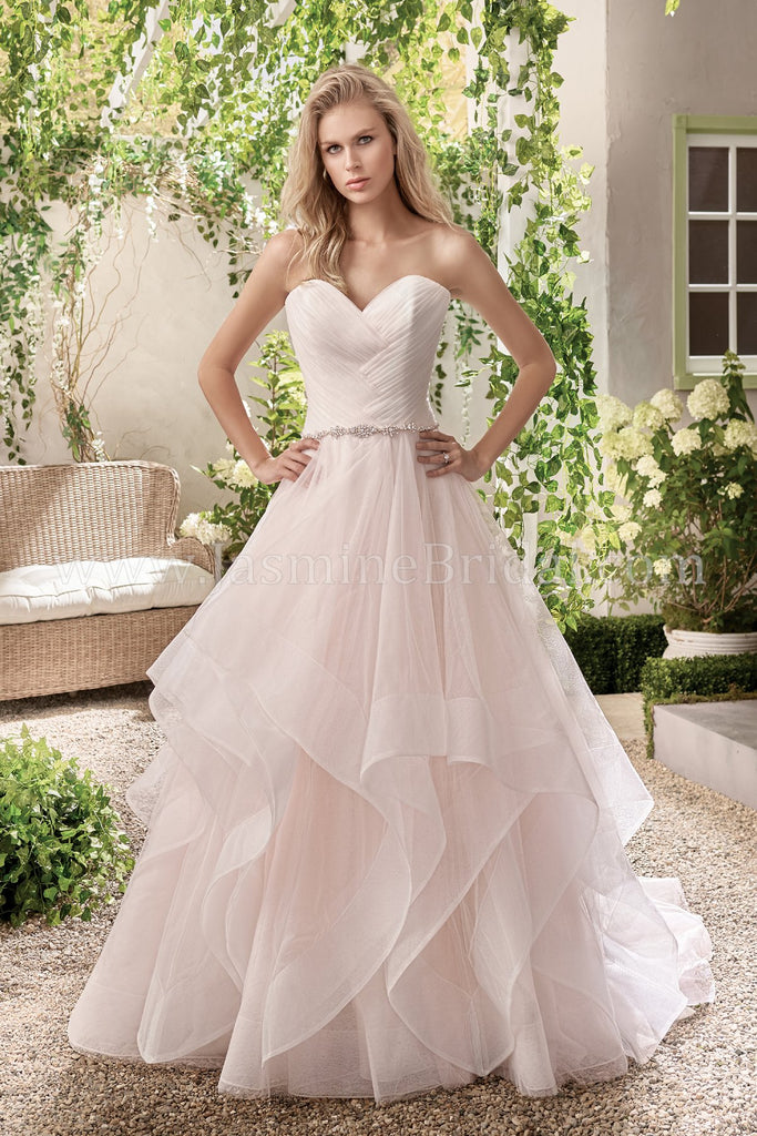 Jasmine Collection F191004 Bridal Gown